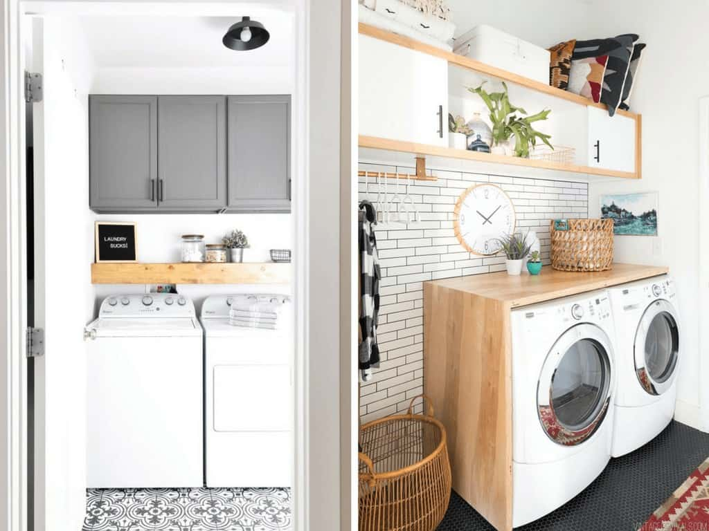 Ideas for a small laundry room