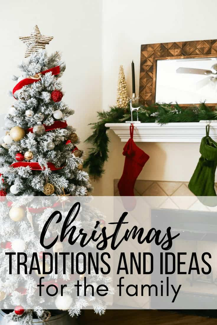 Ideas for Christmas traditions for the family, DIY Christmas decor, and fun ideas for how to celebrate the Christmas season with your family.