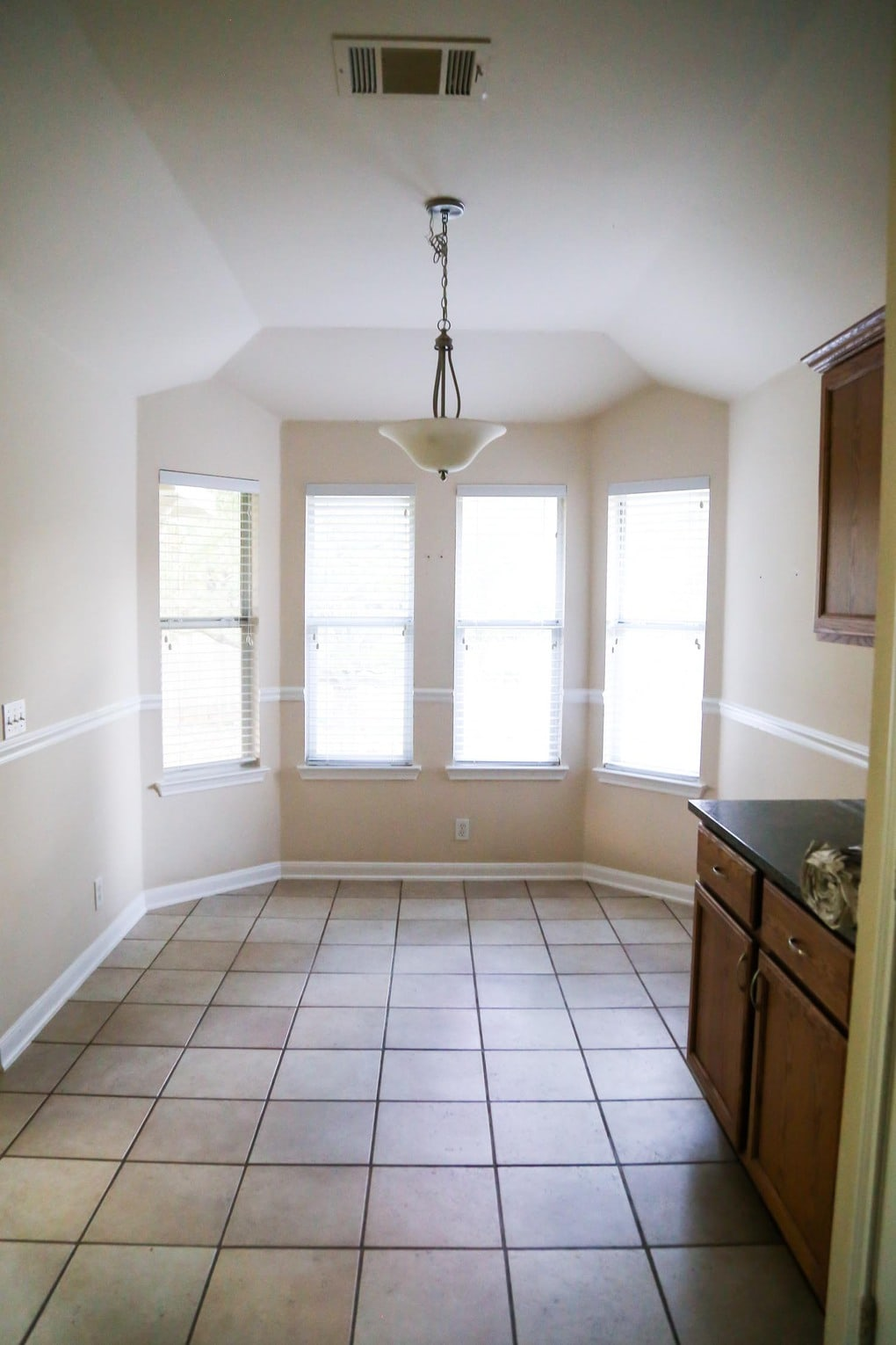 new house tour - dining area