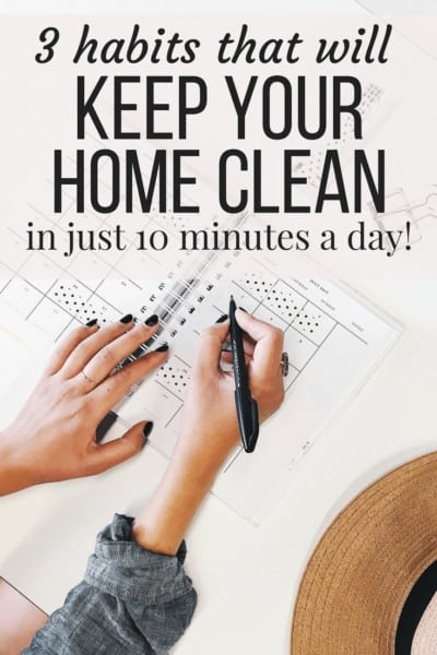 Three simple habits that will help you keep a cleaner house without any additional effort. Life hacks and tips for a clean house quickly and easily.