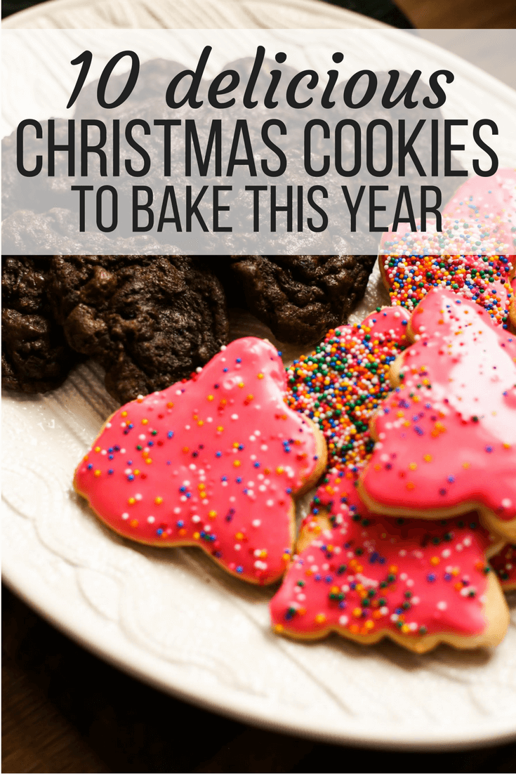 10 easy and delicious Christmas cookies to make this season - simple recipes that you and the kids are sure to love!