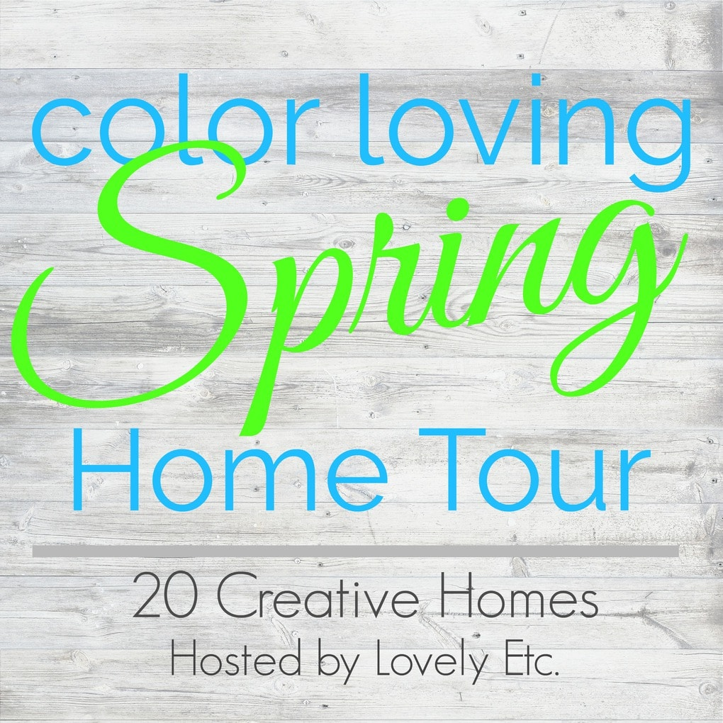 Color loving spring home tour