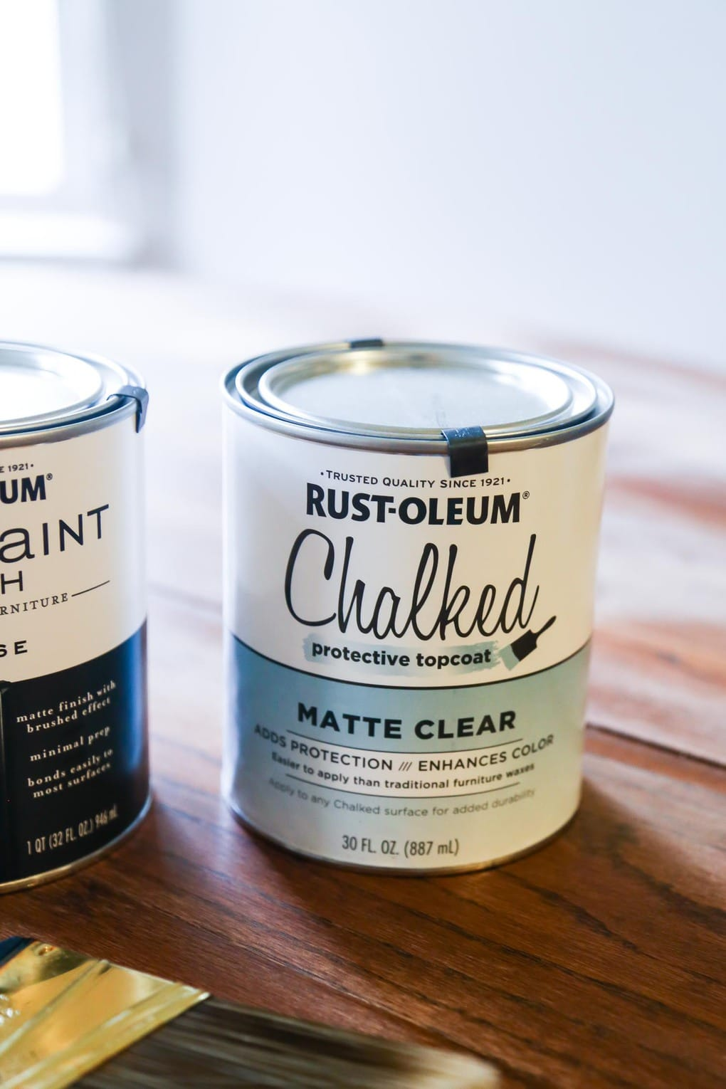 Rustoleum Chalked Protective Top Coat