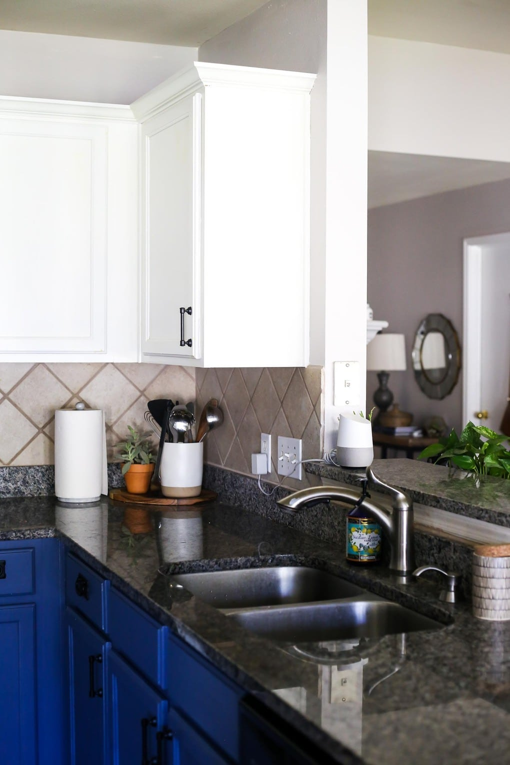 Kitchen spring home tour