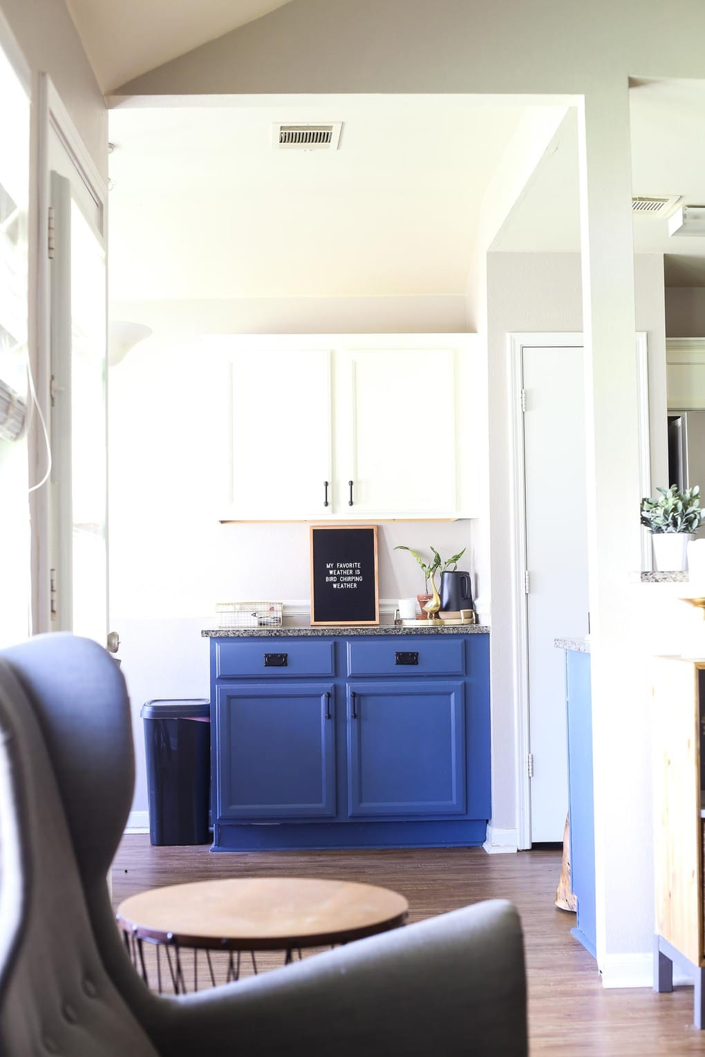 Spring home tour - kitchen and dining room