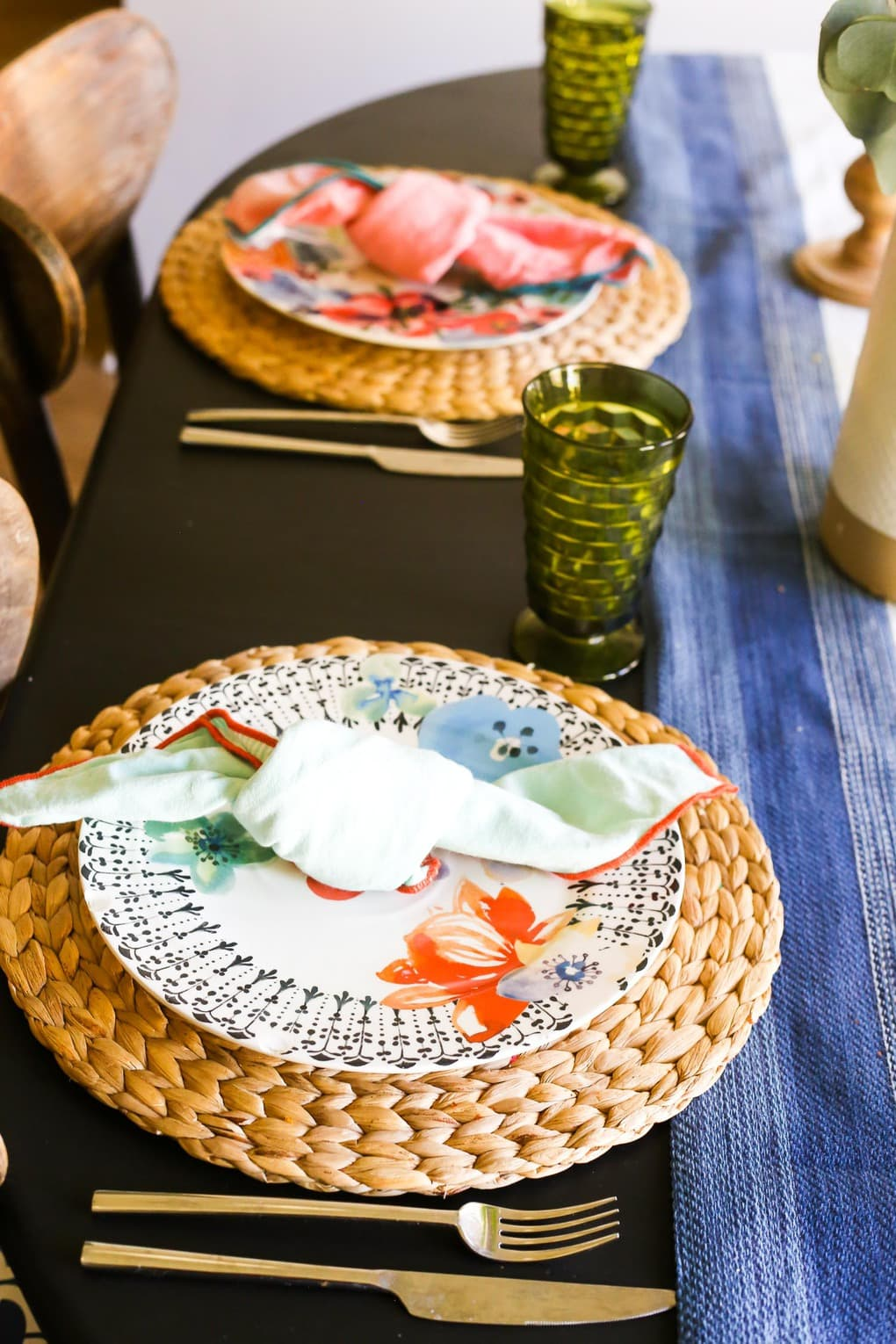 Spring dining table and tour