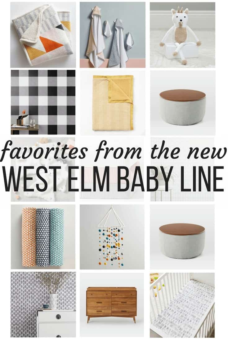 West Elm baby products