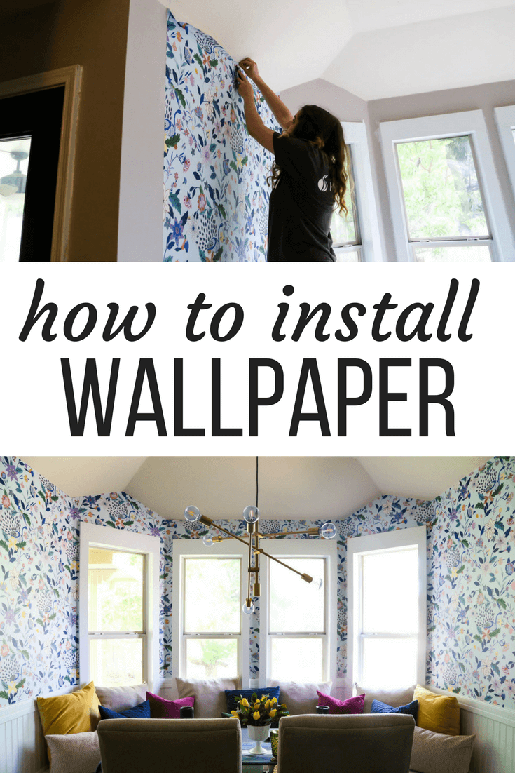 How to hang pre-pasted wallpaper