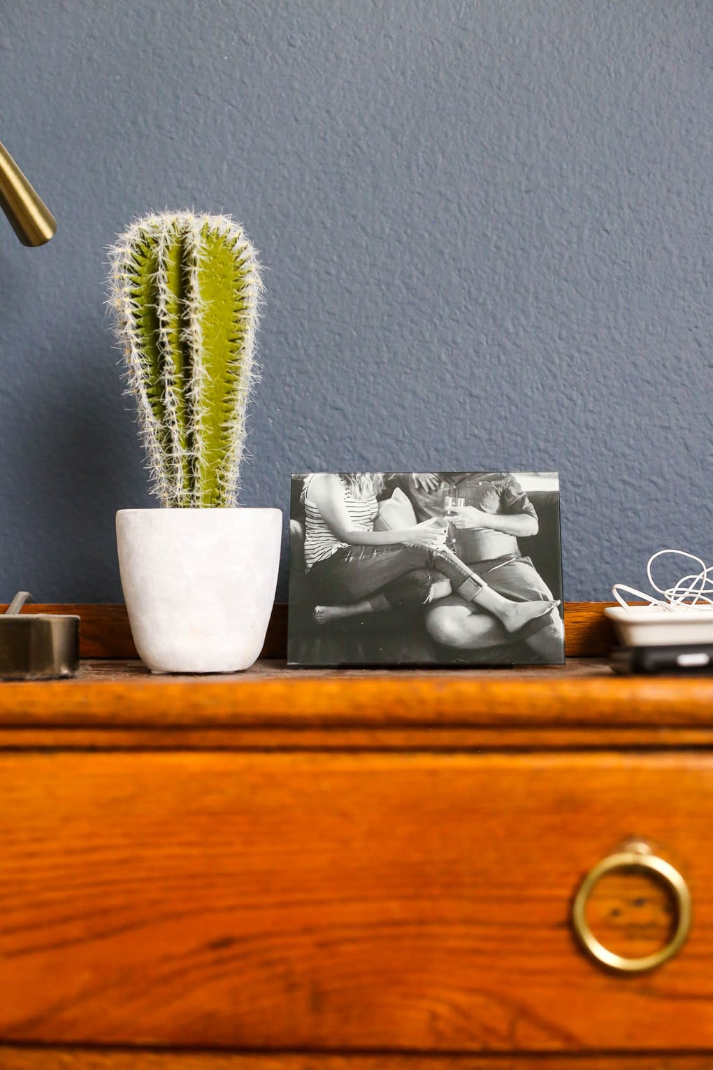 Family photo display ideas - Fracture glass prints