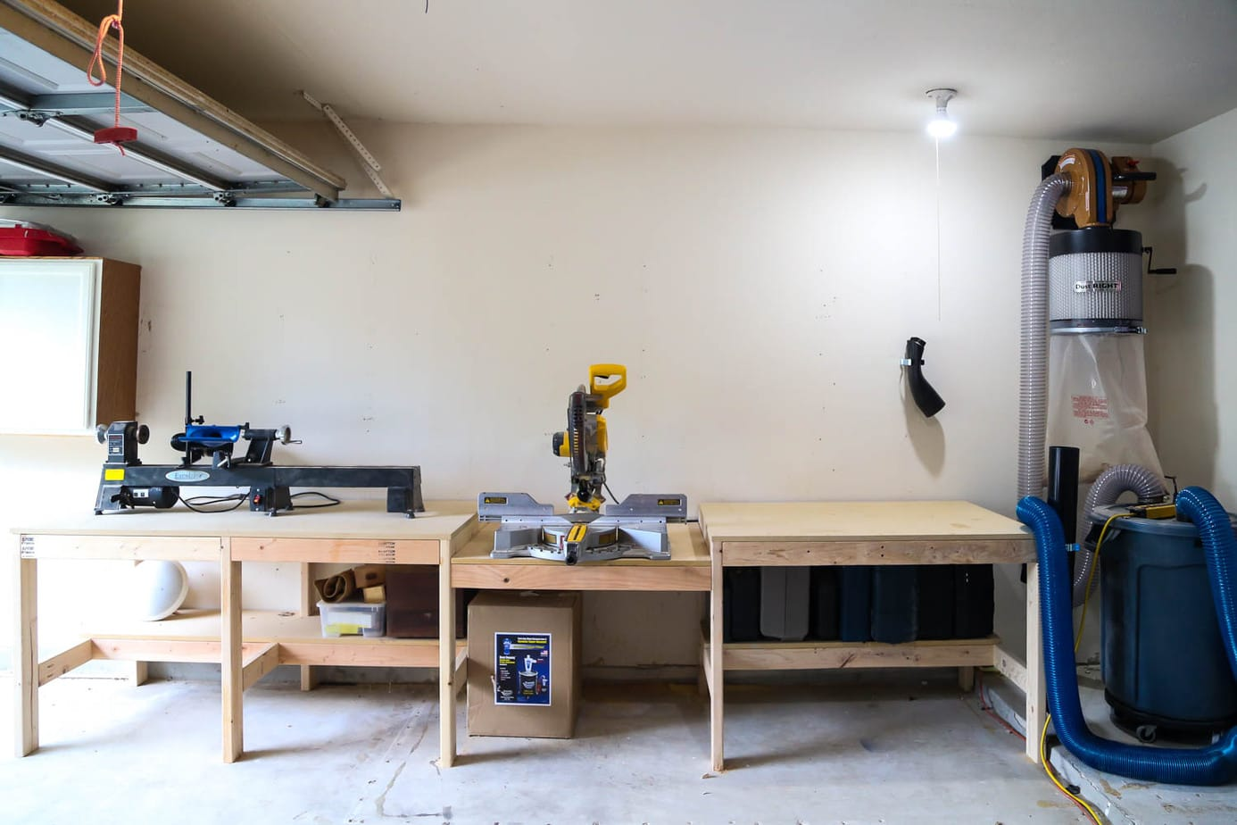 Rockler dust collection system
