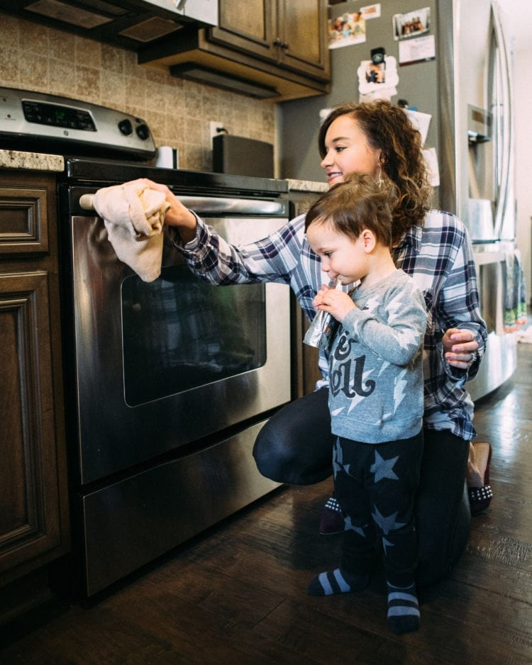 Tips for cleaning with toddlers