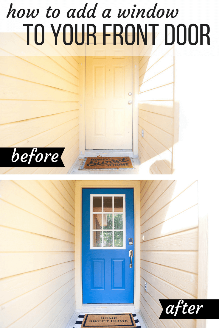 how to renovate a front door