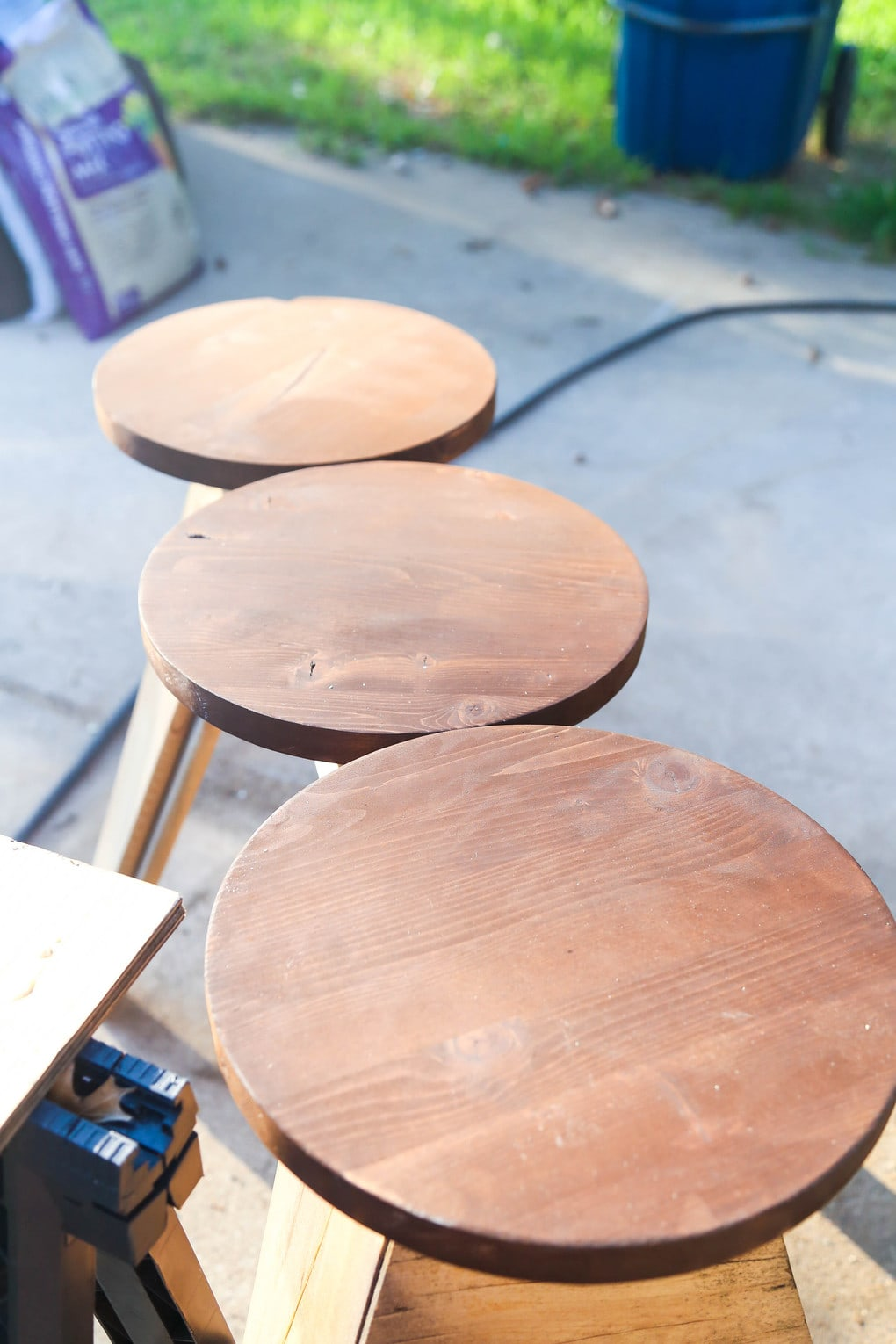 how to make over bar stools