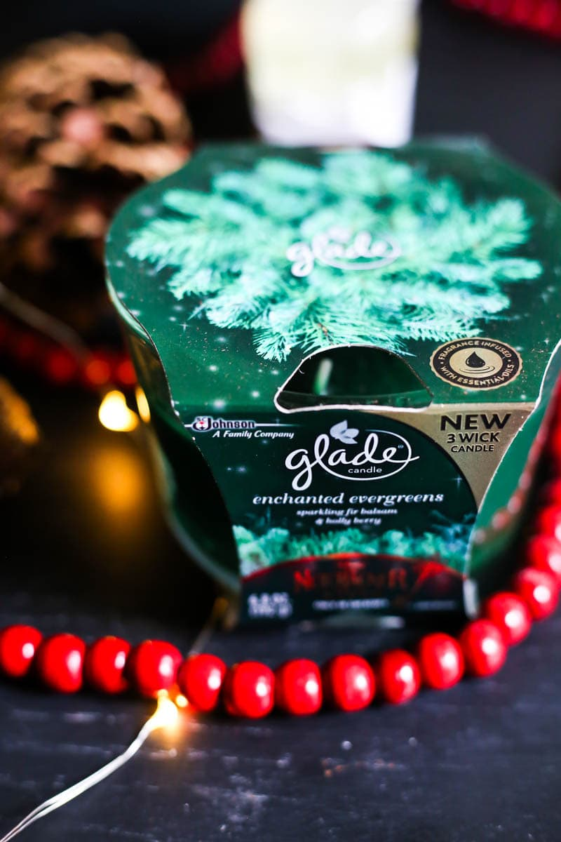 Glade Enchanted Evergreen candle