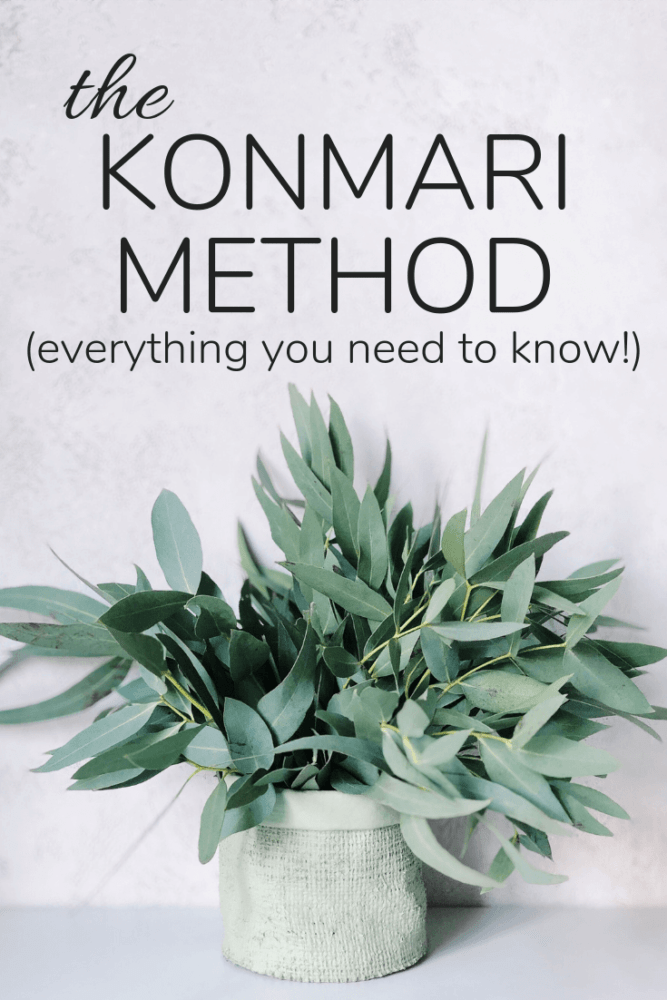 The Konmari method - everything you need to know.