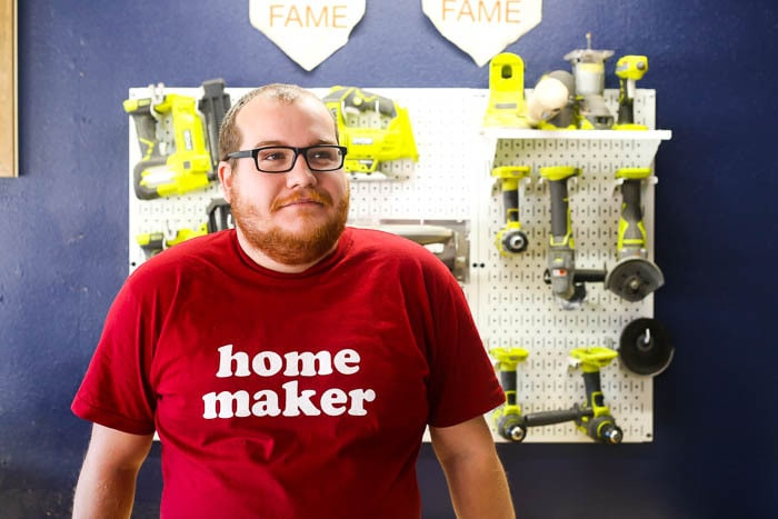 Home Maker t-shirt by Ampersand Goods
