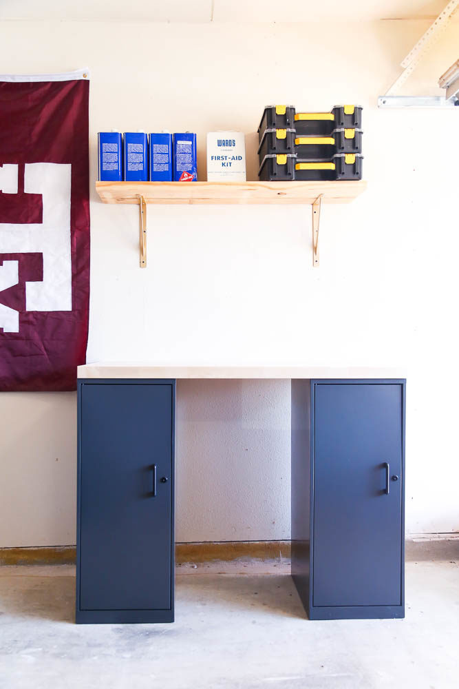 Easy DIY workbench after