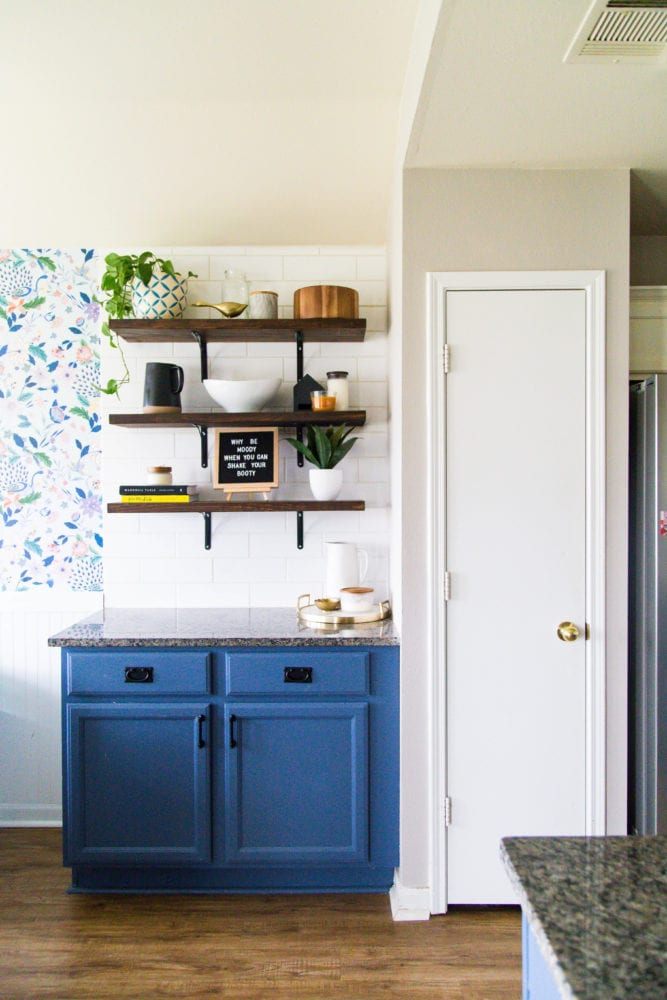 kitchen with small pantry