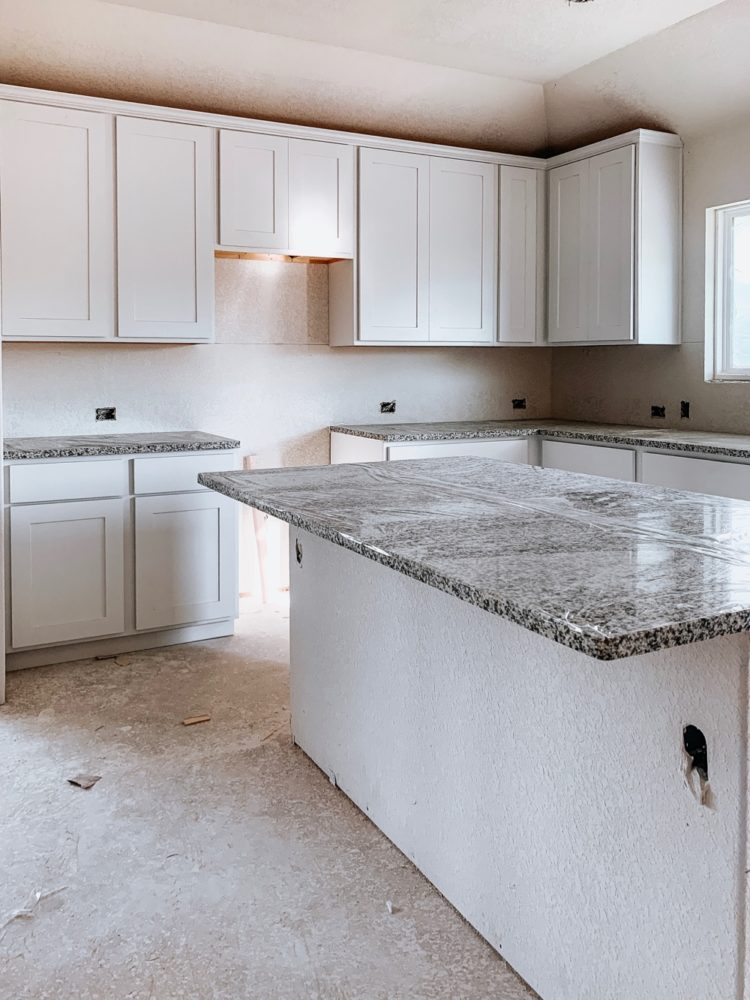 leander texas new home kitchen
