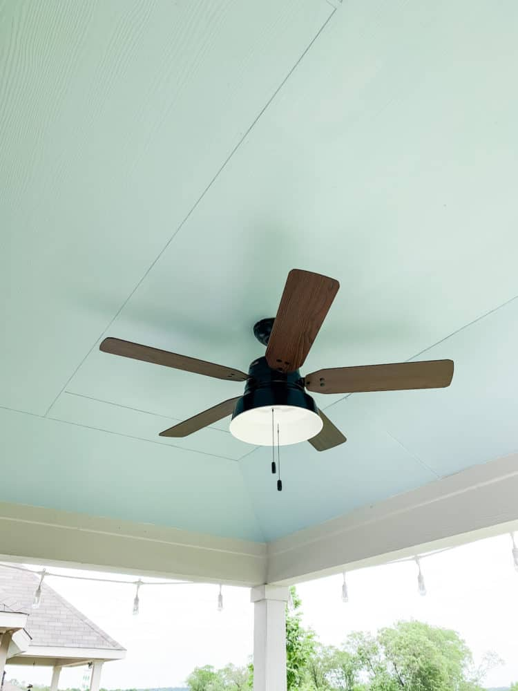 back porch ceiling fan