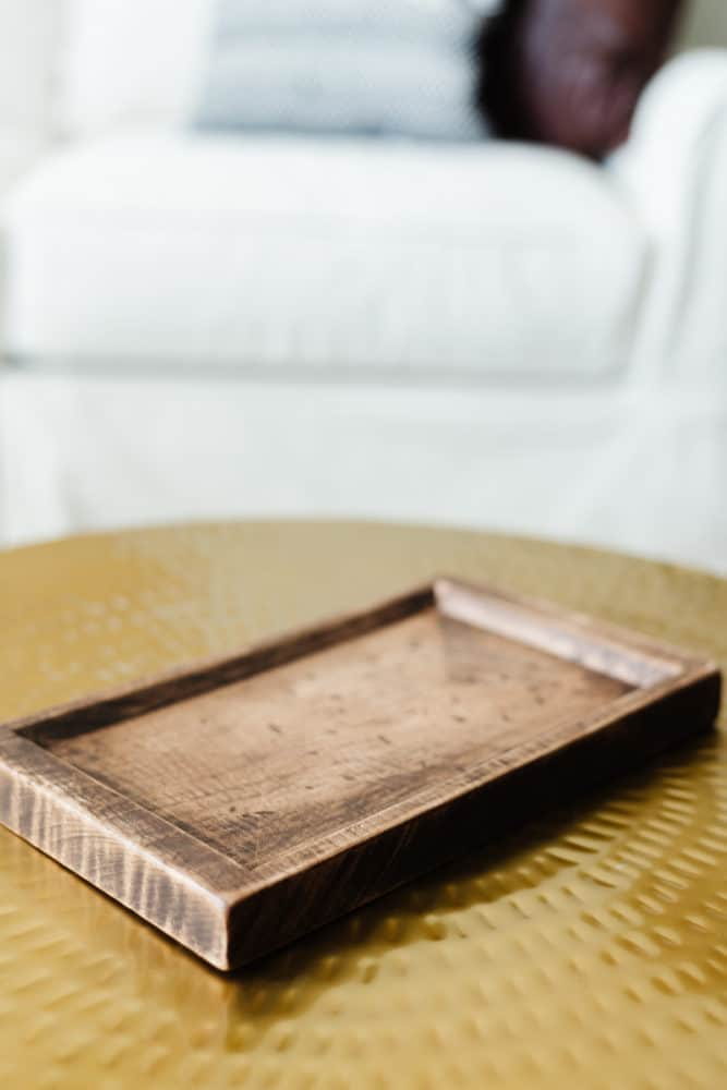 DIY tray carved with the X-Carve