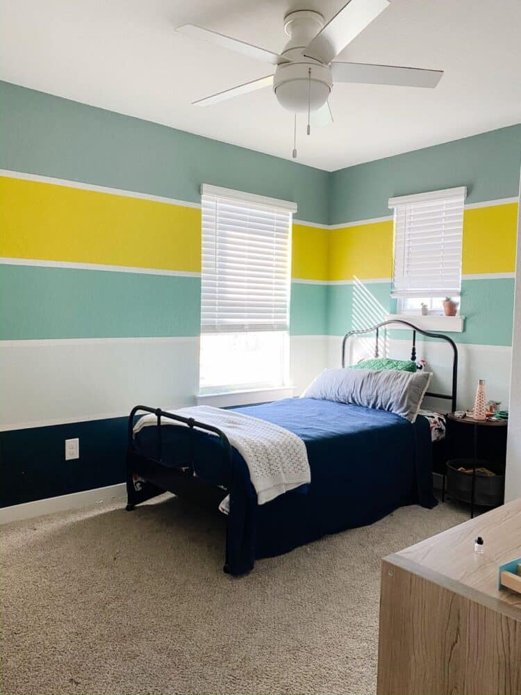 colorful boys' bedroom