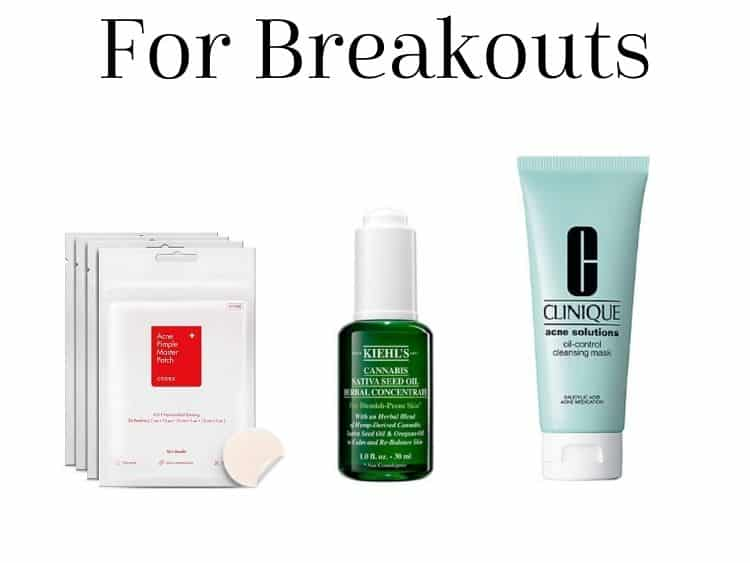 collage of products used during a breakout