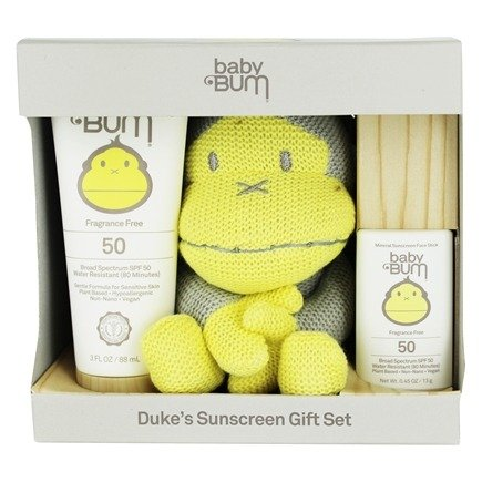 Buy Baby Bum Duke S Sunscreen Gift Set With Knitted Toy At