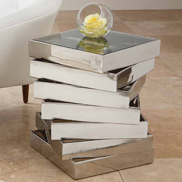 Mirrored Console Table And Coffee Table Designs Stretching Small