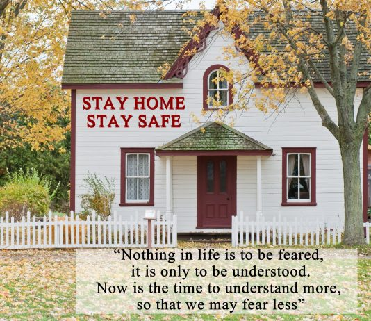 STAY HOME STAY SAFE QUOTES
