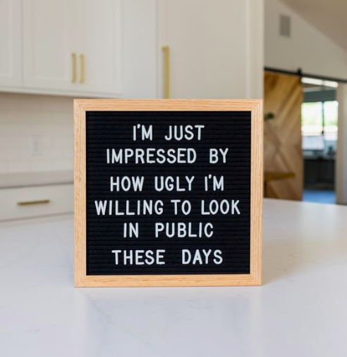 The 46 Best Funny Letter Board Quotes Mama And More