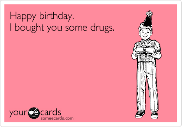 Man Brings Birthday Cards Laced With Anthrax To Cops Turns Out To Be Cocaine Instead