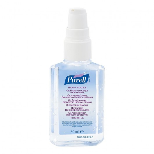 Purell Instant Hand Sanitiser 60ml With Pump