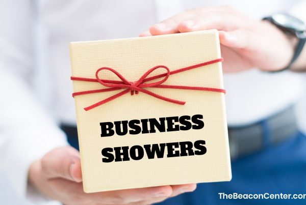 business showers photo