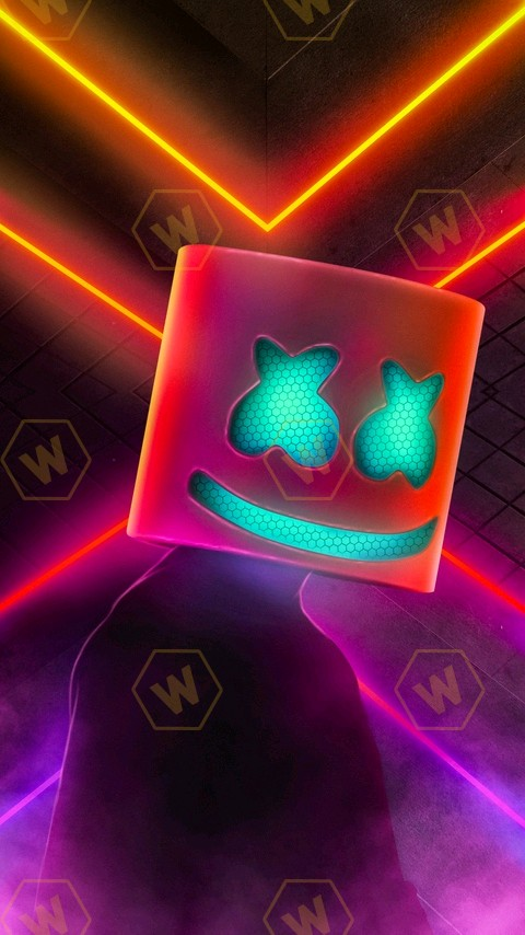 Cool Neon Fortnite Wallpapers