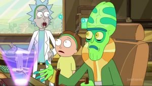 Rick And Morty-Extra Steps