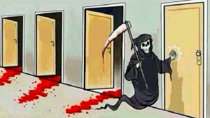 Death Knocking At The Door