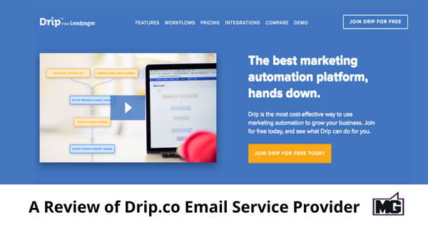 A Review of Drip.co Email Service Provider - 600