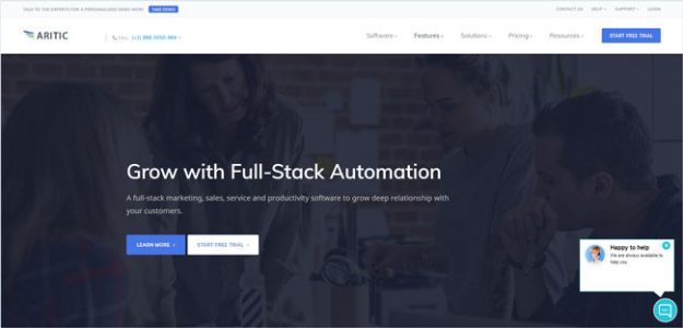 aritic pinpoint marketing automation