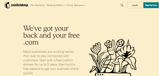 mailchimp marketing and automation