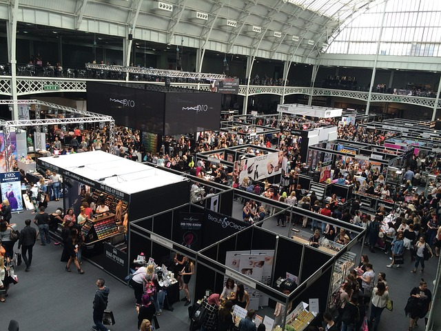 exhibiting at a trade show can boost your social media profile