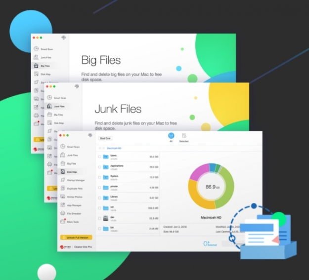 cleaner one delete junk files