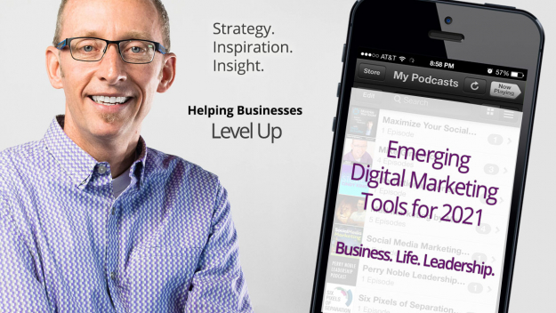Podcast on emerging digital marketing tools for 2021