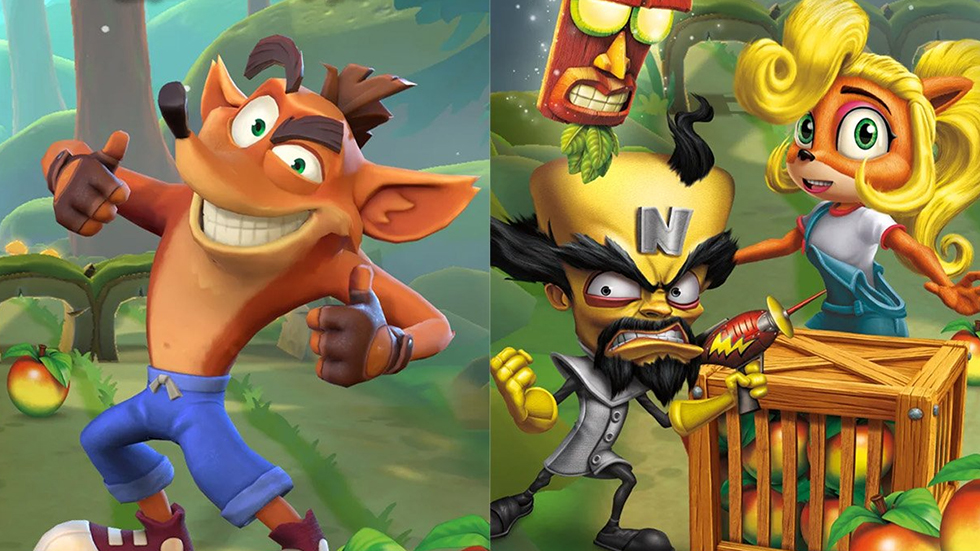 Crash Bandicoot Móviles