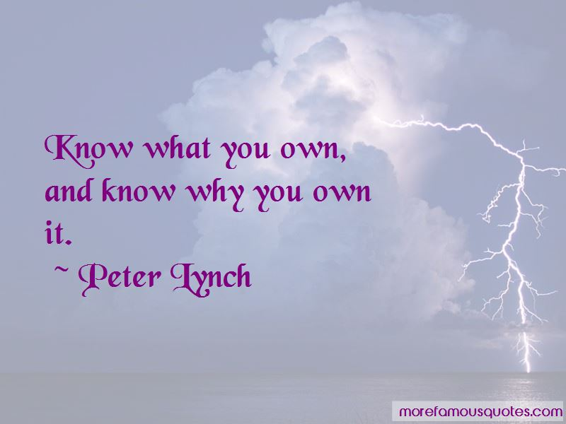 Peter Lynch Quotes 1