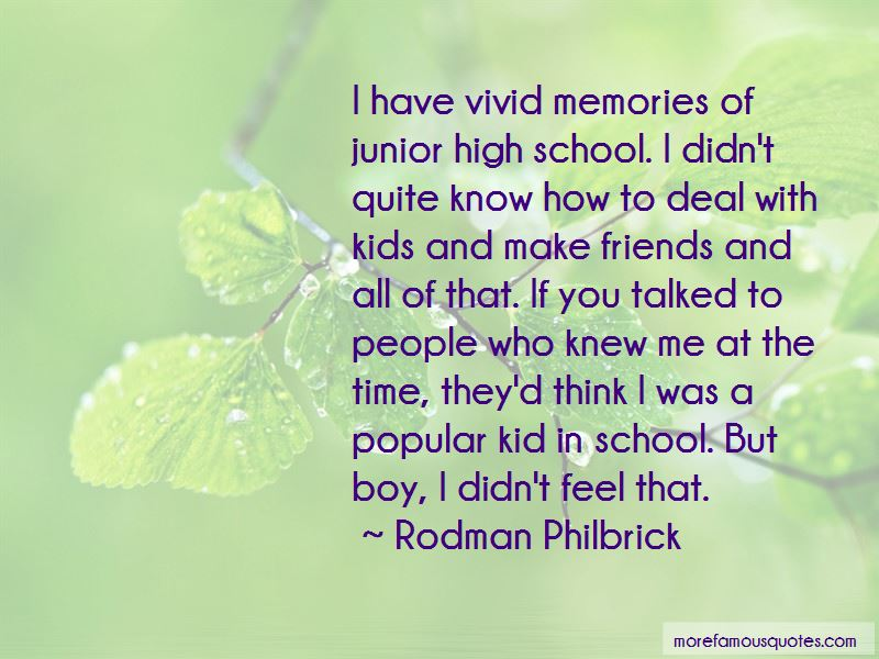 High School Friends Quotes 3