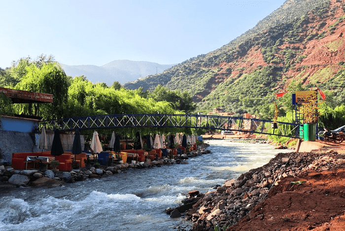 1 day trip marrakech ourika valley