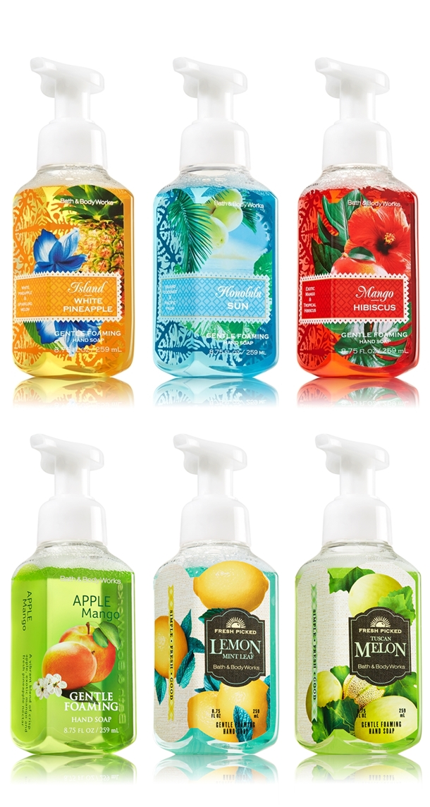 Bath Body Works Relaunches Hand Soaps For Spring 2014 Musings