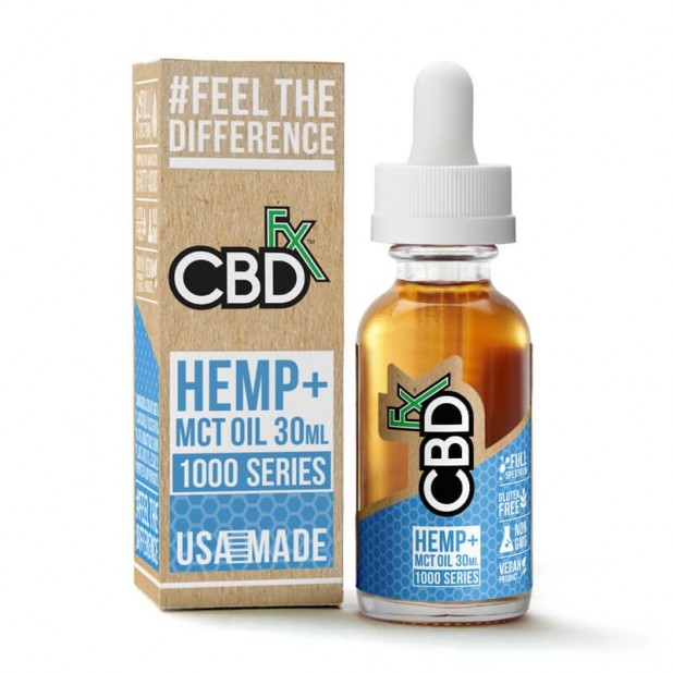 CBDfx CBD Hemp MCT Oil 1000mg