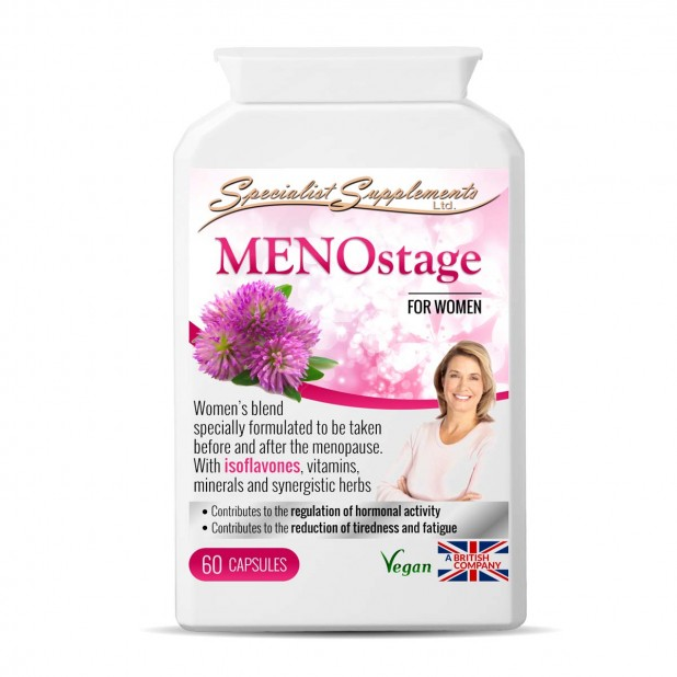 specialist supplements MENOstage pot 60 capsules SN015